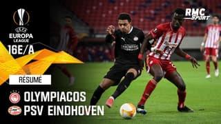 Résumé : Olympiacos 4-2 PSV Eindhoven - Ligue Europa 16e de finale aller