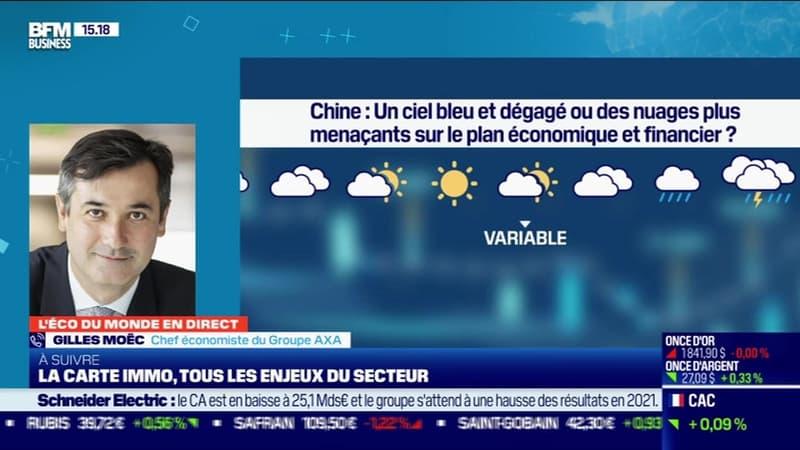 Gilles Moëc (AXA) : Un ciel bleu et dégagé ou des nuages plus menaçants sur le plan économique et financier chinois ? - 11/02