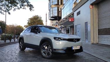 Mazda propose désormais un SUV 100% électrique dans sa gamme, le MX-30.