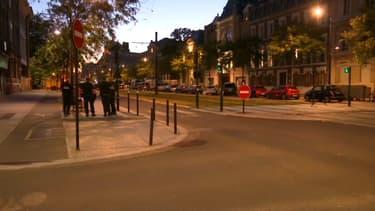 Le Havre la nuit, sur les lieux de la prise d'otage du 6 août 2020