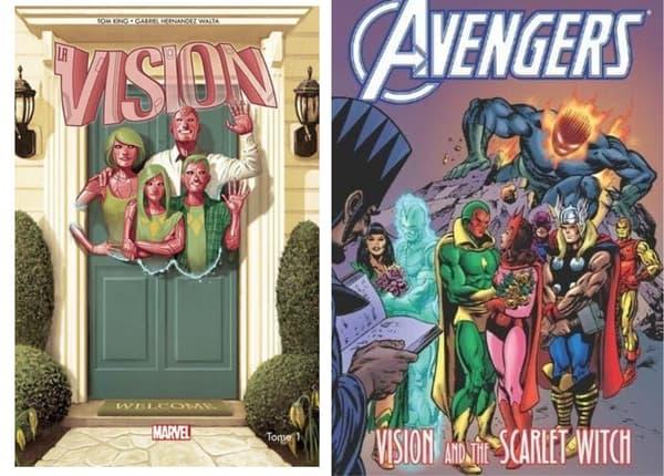 Des comics mettant en scène Wanda et Vision