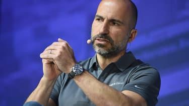 Avec Axa, Uber a créé une couverture sociale pour ses chauffeurs et livreurs européens. L'annonce a été faite par  Dara Khosrowshahi, son PDG, lors du sommet Français Tech for Good.