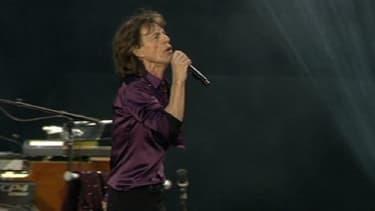 Mick Jagger vendredi soir au Stade de France: toujours autant d'énergie pour le chanteur de 70 ans.