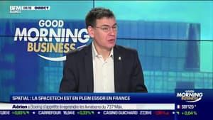 Philippe Baptiste (CNES) : La Spacetech est en plein essor en France - 14/05