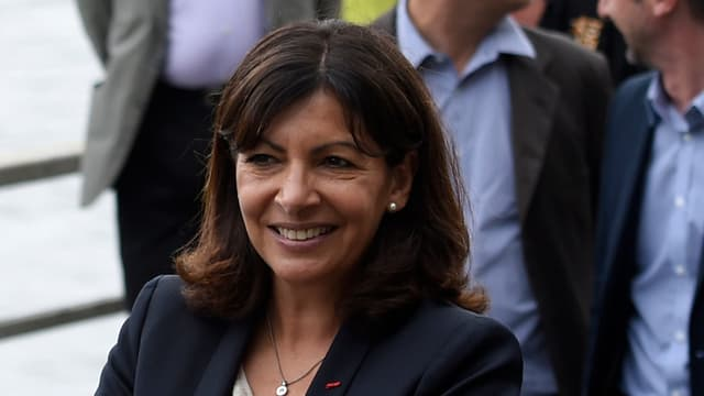 Anne Hidalgo, la maire PS de Paris.