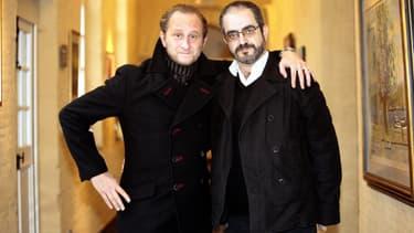 Benoît Poelvoorde et Daniel Cohen en 2007