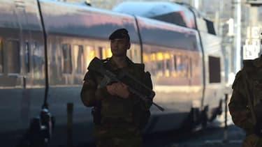 Un militaire de l'opération Sentinelle a été agressé à la gare de Strasbourg (photo d'illustration).