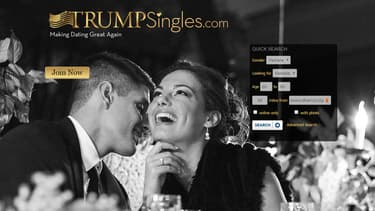 Le site de rencontre consacré aux fans de Trump.