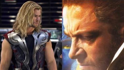 Wolverine et Thor ont peu de chance de se rencontrer au cinéma.