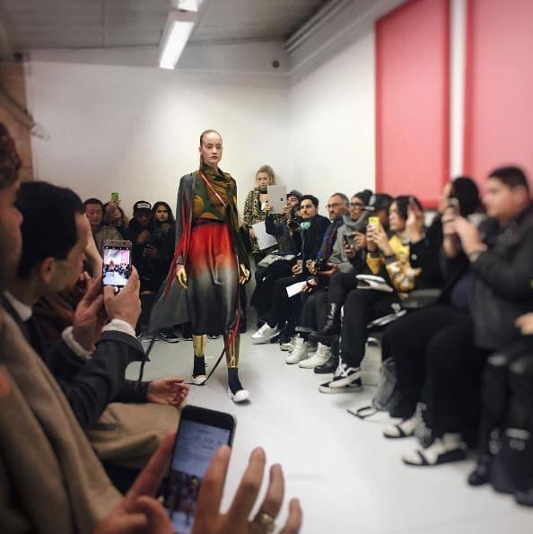 Défilé Liselore Frowijn lors de la Fashion Week de Paris