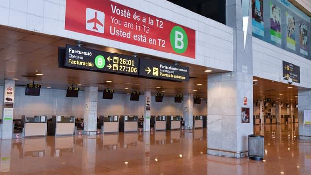 Le terminal 2 de l'aéroport El Prat de Barcelone, le 19 novembre 2020. (Photo d'illustration)