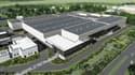 La future usine de Nersac