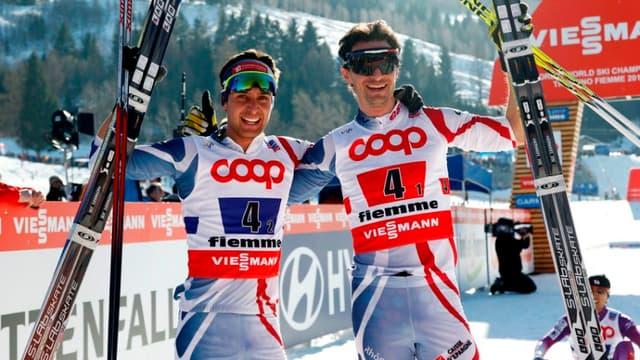 Jason Lamy-Chappuis et Sébastien Lacroix