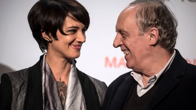 Asia Argento et son père le réalisateur Dario Argento