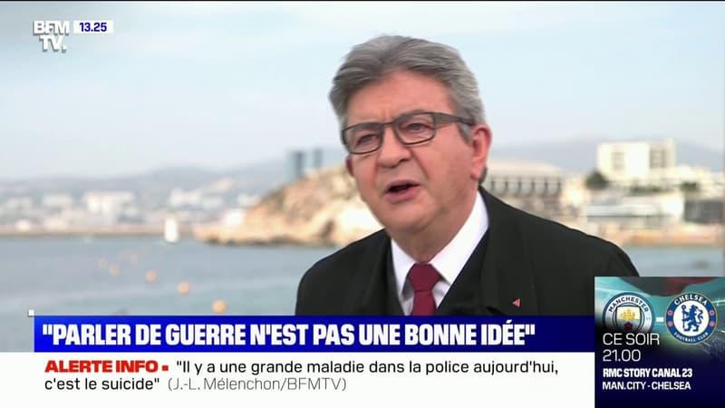 """Jean-Luc Mélenchon sur la crise du Covid: """"Ce n'est pas le capitalisme qui nous a tiré d'affaire"""""""