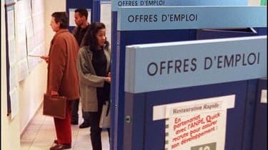 En valeur absolue, c'est sous Jacques Chirac que l'emploi a le plus progressé en France ces 35 dernières années.