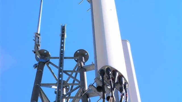 Vue d'une antenne-relais