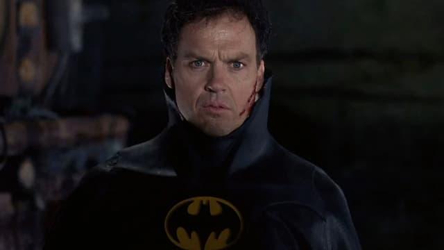 Michael Keaton dans la peau de Batman.