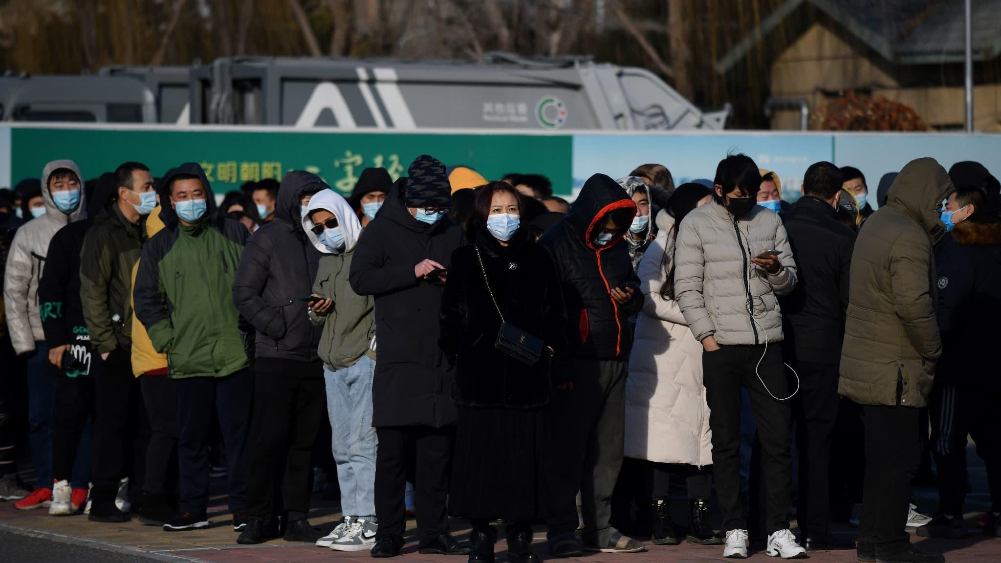 La ville de Pékin vaccine à grande échelle contre le Covid-19 avant le Nouvel an chinois