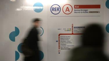Le RER A est la ligne la plus fréquentée de France