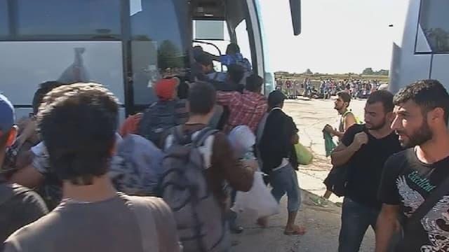 9.000 migrants sont arrivés en Croatie mardi