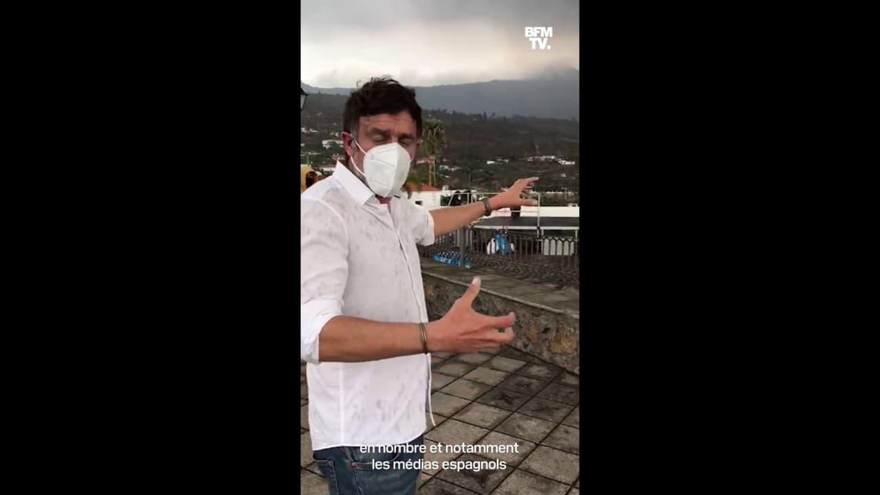 Eruption du Cumbre Vieja aux Iles Canaries: Igor Sahiri au plus près du volcan