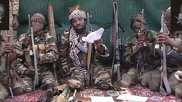 Capture d'écran d'une vidéo montrant un homme qui revendique être Abubakar Shekau, le leader de Bokho Haram au Nigeria.