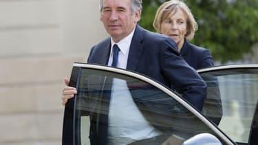 François Bayrou et Marielle de Sarnez, président et vice-présidente du MoDem.