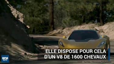 Genève 2018: Venom F5, la voiture la plus rapide au monde