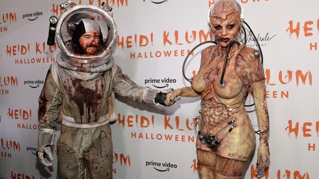 Tom Kaulitz et Heidi Klum, pour Halloween 2019