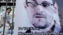 Une affiche à l'effigie d'Eward Snowden à Hong Kong.