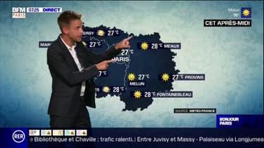 Une belle journée d'été en Ile-de-France ce lundi: du ciel bleu et jusqu'à 28°C