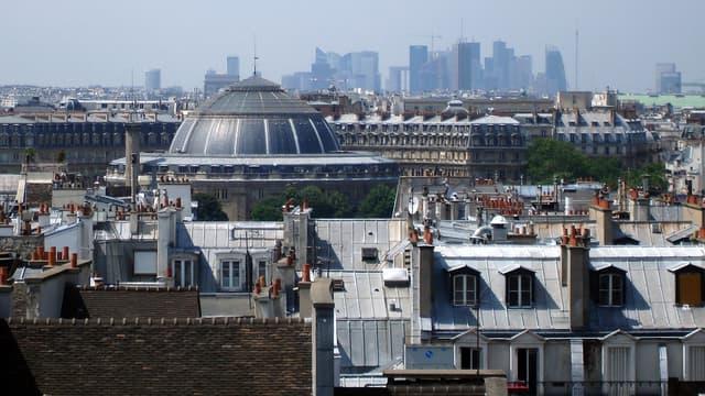le loyer moyen charges comprises pour se loger à Paris est de 1.065 €