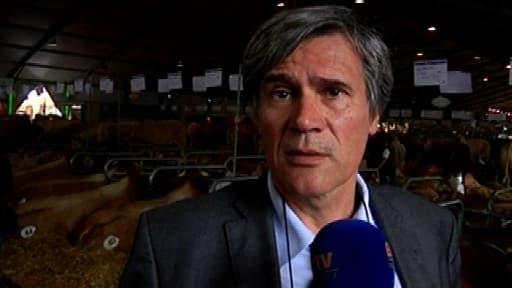 Le ministre de l'Agriculture Stépahne Le Foll