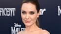 """Angelina Jolie lors de la première de """"Maleficient"""", à Hollywood."""
