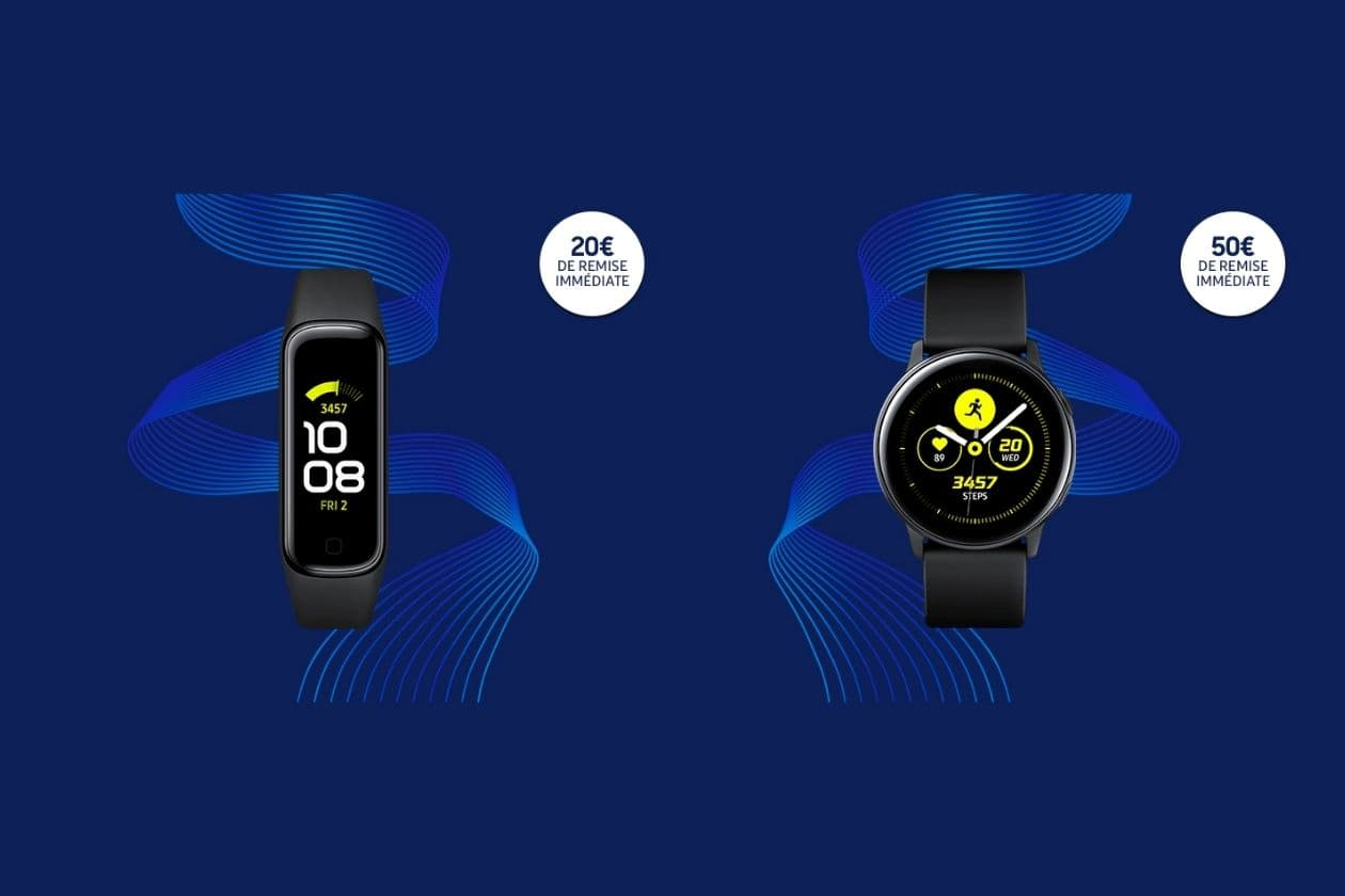Promotions sur les Galaxy Watch