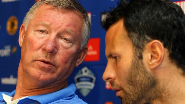Sir Alex Ferguson et Ryan Giggs