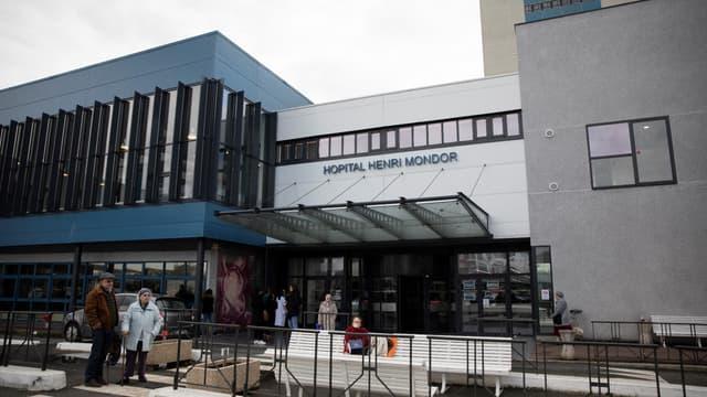 L'hôpital Henri-Mondor à Créteil