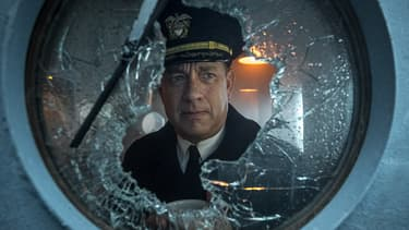 "Tom Hanks dans ""USS Greyhound - La bataille de l'Atlantique"""