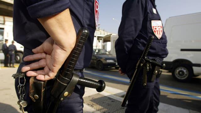Des CRS. Photo d'illustration - AFP