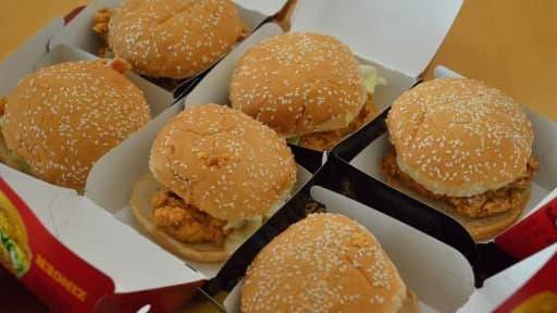 Les ventes de Hamburger ont flambé en France en 2013.