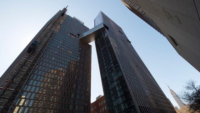 Cet immeuble a été imaginé après l'ouragan Sandy.