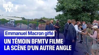 Emmanuel Macron giflé: un témoin BFMTV a filmé la scène