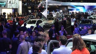 En 2012, le Salon automobile de Paris avait attiré 1,2 millions de visiteurs