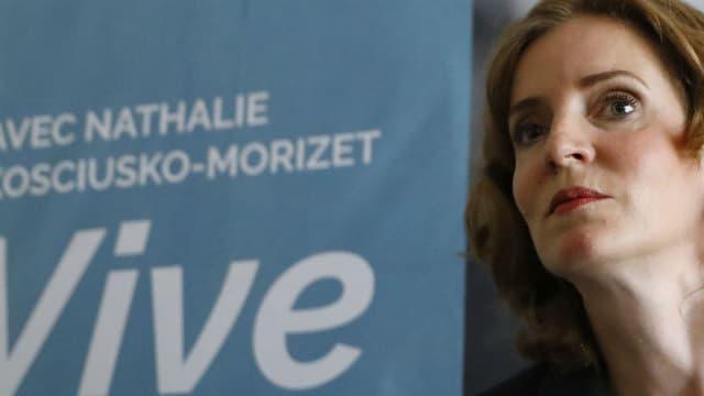 Nathalie Kosciusko-Morizet, candidate à la primaire de la droite, le 25 août 2016 lors d'une conférence de presse