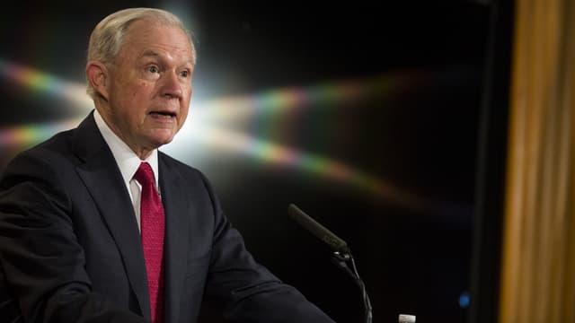 Le ministre américain de la Justice, Jeff Sessions.
