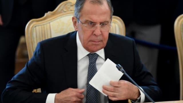 Le ministre russe des Affaires étrangères Sergueï Lavrov, le 7 février 2017 à Moscou.