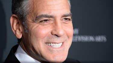 George Clooney aux Baftas, le 9 novembre 2013