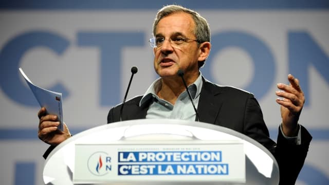 Thierry Mariani arrive en tête du premier tour des élections régionales en Provence-Alpes-Côte-d'Azur.