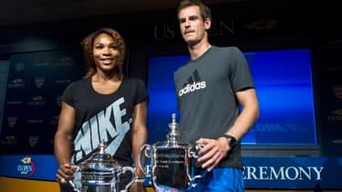Serena Williams et Andy Murray, les deux derniers vainqueurs de l'US Open, tenteront de rafler la mise.